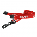 Staff Rosso plastica