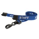 Staff blu plastica